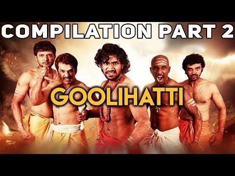 Goolihatti | Hindi Dubbed Movie | Compilation Part 2 | Pavan Surya | Tejaswini