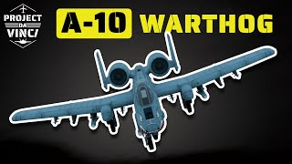 How the Incredible A-10 Warthog Plane has Survived for More than 40 Years