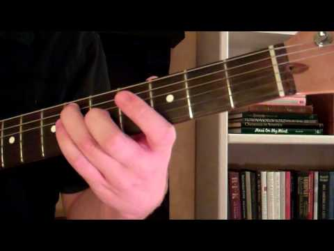 How To Play the G Sharp Major Chord (G#) or (Ab) A Flat On Guitar