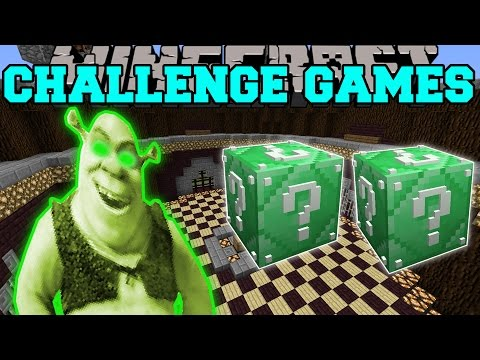 , title : 'Minecraft: SHREK CHALLENGE GAMES - Lucky Block Mod - Modded Mini-Game'