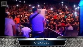 No se si fue (En Vivo) - Arcangel | La Calma PR 2015
