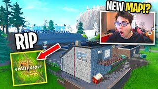 GOODBYE Soccer Stadium... (Fortnite NEW MAP UPDATE)