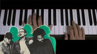 5 Minute Riff: Know No Better (Major Lazer). A short piano tutorial.