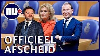 Opvallende momenten van vertrekkende Asscher, Dijkhoff en Dijkstra | NU.nl