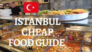 ISTANBUL CHEAP FOOD GUIDE | Best Budget Food in Istanbul | Lokantas, Pide, Balik Ekmek, Lokum & more