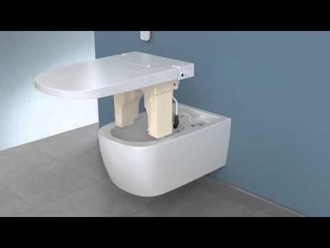 Унитаз подвесной Vitra V-Care Comfort (5674B003-6104) с феном 10