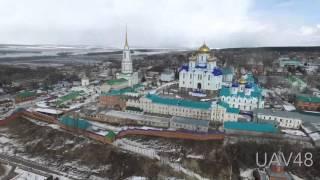 Полёт в Задонск с М4 - Задонский монастырь