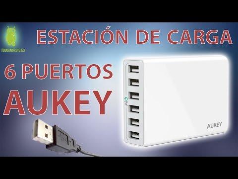 Análisis estación de carga Aukey 6 puertos USB - 5 voltios 10 amperios