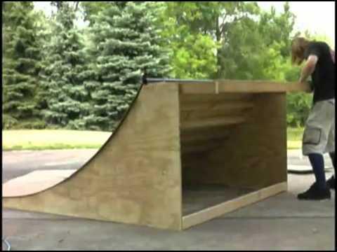 Como hacer una rampa de skate!!