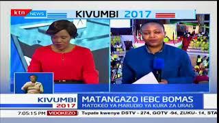 IEBC imefafanua kwamba imepata matokeo kutoka vituo vya kupiga kura