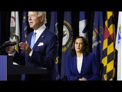 US Wahlkampf: Biden und Harris allein im Keller