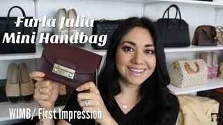 Furla Julia Mini Handbag | WIMB | First Impression
