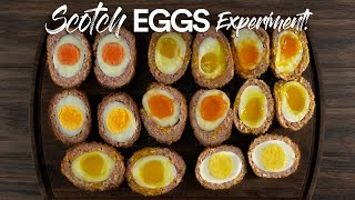 I cooked over 500 EGGS to make the PERFECT Scotch Egg!