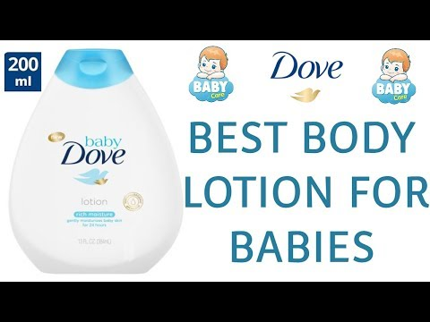 DOVE Baby Lotion Review (200ml) - Rich Moisture Nourishing Body Lotion For BABIES | PARABEN FREE