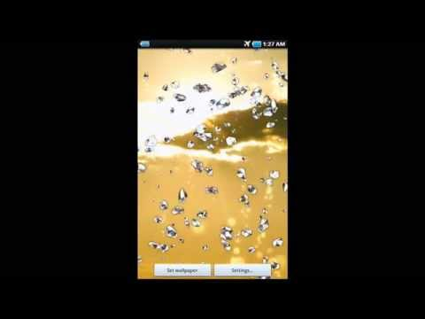 Video of Crystal Live Wallpaper Free