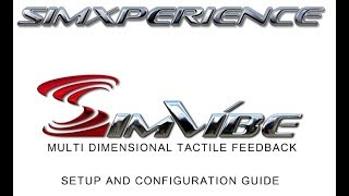 SimVibe By SimXperience In Depth Setup And Configuration