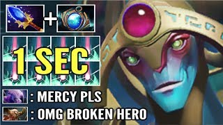 WTF 1 Sec Purifying Flames Scepter Oracle New Broken Hero vs Void Cancer Gameplay Dota 2