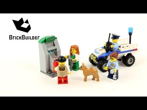 Vidéo LEGO City 60136 : Ensemble de démarrage de la police