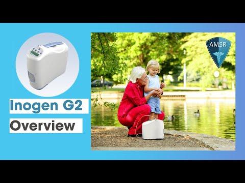 Dimensiuni Concentrator de oxigen portabil Inogen One G2