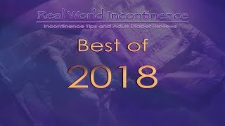 """Best """"Tested"""" Incontinence Products of 2018 (adult diapers)"""