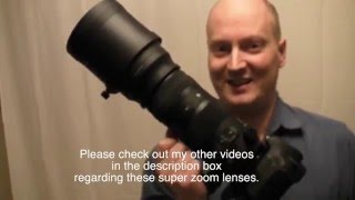 Sigma sports 150-600mm lens review