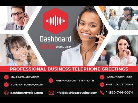 Dashboard Voice