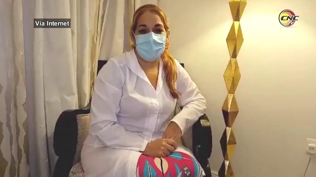 Envían mensaje al pueblo de Cuba médicos granmenses en Santa Lucía