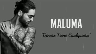 Maluma - Dinero Tiene Cualquiera (Letra) 4K