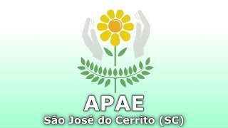 APAE De São José Do Cerrito - 20 Anos