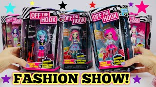 FASHION SHOW 👗 👠 NEW OFF THE HOOK DOLLS by SPIN MASTER | Doll Unboxing & Review!