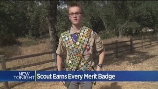 El Dorado Hills Eagle Scout Earns Every Possible Merit Badge