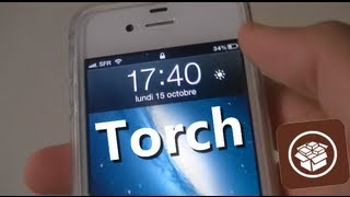Torch   Activer La LED Flash De L'iPhone 44S Depuis Le Lockscreen !