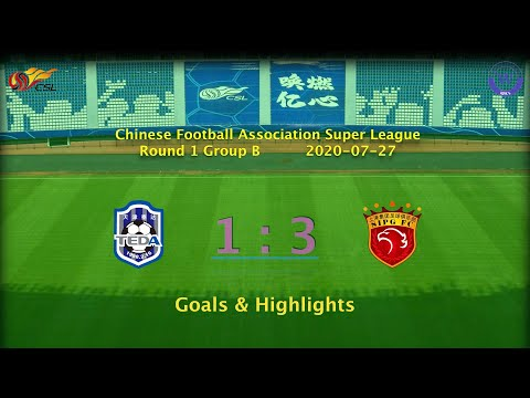 Tianjin Teda 1x3 Shanghai SIPG