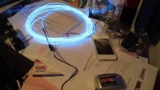 My Sound Activated EL Wire