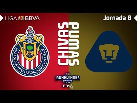 Resumen y Goles | Chivas vs Pumas | Liga BBVA MX – Guard1anes 2021 – Jornada 8