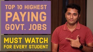 Top 10 Highest Paying Government Jobs List By Knower Nikhil [ Must Watch ]