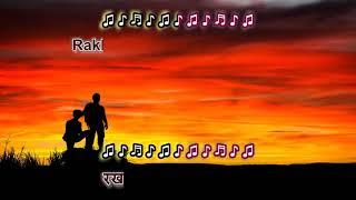 Aa Gale Lag Jaa (1973) - Karaoke Highlighted Lyrics - YouTube