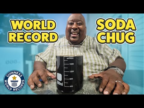 How Fast Can You Drink 2L of Soda?