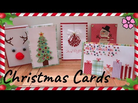 DIY Christmas Cards ♥︎