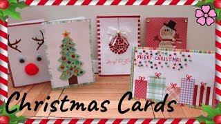 DIY Christmas Cards ♥︎
