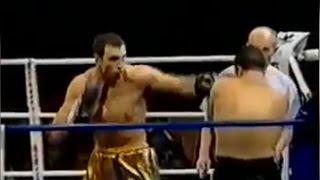 Бокс. Владимир Кличко - Фабиан Меза (Дебют Владимира - 1 бой)