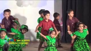 Punchi Punchi Tharu Wage Nil Ahas Thale Dance At EMS Pre school(Mahawa) Concert 2017