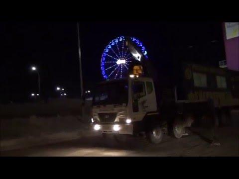 Перевозка негабаритных грузов манипулятором в Екатеринбурге