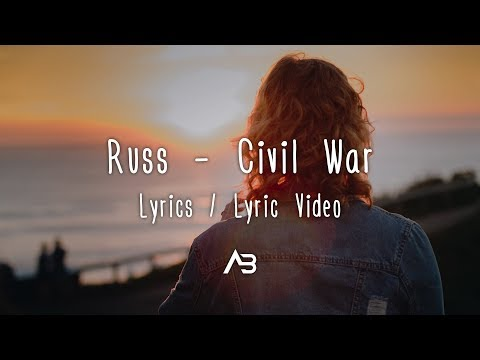 Russ - Civil War (Lyrics / Lyric Video) - Armair Beats