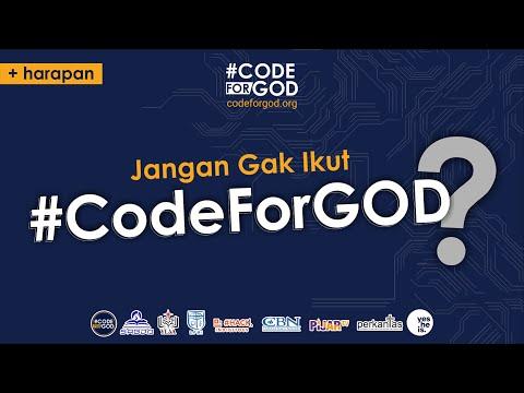 Jangan Gak Ikut #CodeForGod!