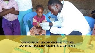 Owino Uhuru lead poisoning victims ask Mombasa governor for assistance   Kholo.pk