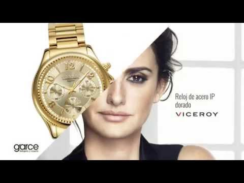 Reloj Viceroy Penélope Cruz 47892-25 dorado para Mujer