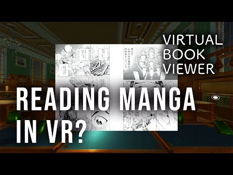 Virtual Book Viewer: Reading Your Own Books in VR (New Oculus Go Apps) [2018]