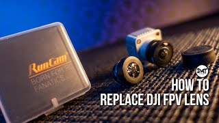 How to Replace the DJI fpv Camera Lens