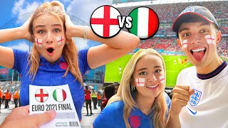 Surprising my Girlfriend with $10,000 EURO FINAL Tickets! (England vs Italy)